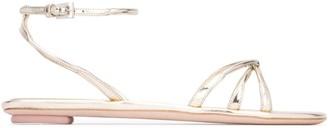 Prada Strappy Knot Sandals