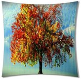 B-ssok Hot Sale CustomThe Pretty Scenery Pillow Cover(One Side)-Q116
