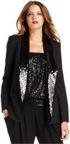 MICHAEL Michael Kors Jacket, Sequined Tuxedo Blazer