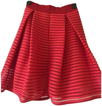 Pinko Red Skirt for Women