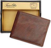 Tasso Elba Men's Leather Portici Multi-Card Passcase, Created for Macy's