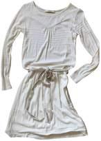 Sessun White Cotton Dress for Women