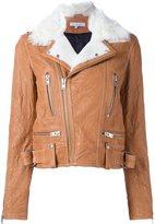 IRO shearling biker jacket