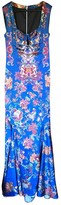 Just Cavalli Blue Dress for Women
