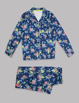 Autograph Pure Cotton Floral Print Pyjamas (1-16 Years)