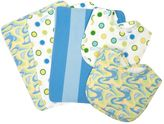 """Trend Lab Dr. Seuss """"Oh, The Places You'll Go"""" Burp Cloth & Bib Wicker Basket 7-pc. Set by"""