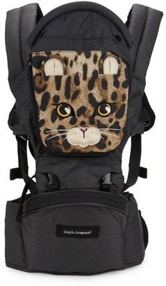Dolce & Gabbana Dolce x Gabbana x MiaMilly Leopard Baby Carrier