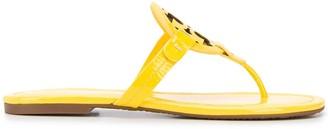 Tory Burch Logo Plaque Sandals