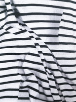 Paco Rabanne striped longlseeved T-shirt - women - Cotton - 34