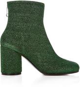 Maison Margiela Lurex block-heel ankle boots