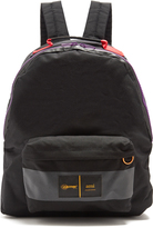 Ami Porter contrast-trim canvas backpack
