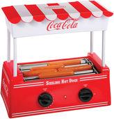 Nostalgia Electrics Nostalgia HDR565COKE Coca-Cola Hot Dog Roller withBun Warmer
