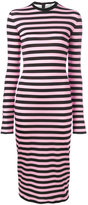 Givenchy striped jersey dress - women - Spandex/Elastane/Viscose - 38