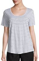 Eileen Fisher Thin Striped T-Shirt
