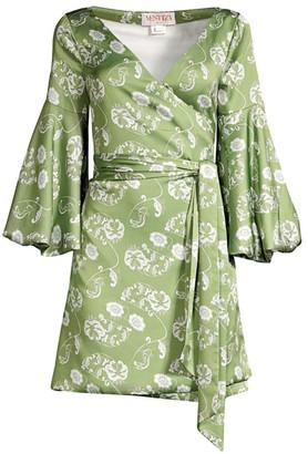 Mestiza New York Savannah Cadiz Mini Wrap Dress