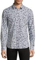 HUGO BOSS Ero3 Diamond Patterned Shirt