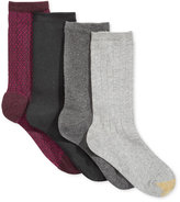 Gold Toe Women's 4-Pk. Diamonds Collection Socks