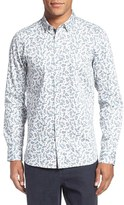 Ted Baker Men's Trim Fit Paisley Print Shirt