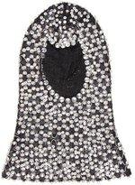 Dolce & Gabbana Embellished Wool Hood