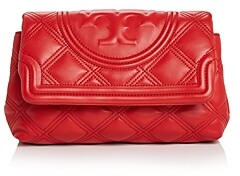 Tory Burch Fleming Soft Leather Clutch