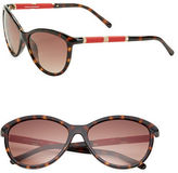 Diane von Furstenberg Reese 58mm Cats Eye Sunglasses