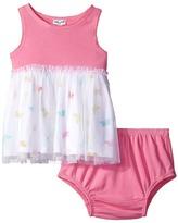 Splendid Littles Always Butterfly Print Tulle Dress Girl's Dress