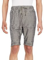 Howe Black Bird Jacquard Shorts