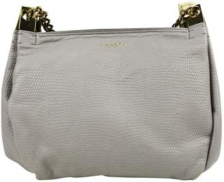 Lanvin Grey Leather Handbags