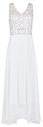 Dorothy Perkins Womens **Showcase Bridal White 'Adele' Maxi Dress, White