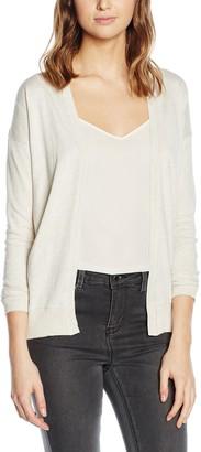 New Look Women's Longline Lace Back Long Sleeve Cardigan
