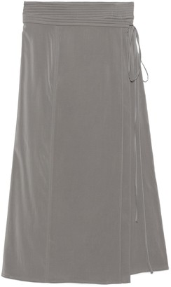 Lemaire Wrap Front Midi Skirt