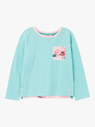 Joules Little Joule Girls' Bliss Stripe Hotchpotch Top