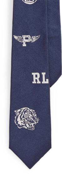 Ralph Lauren Silk Club Tie