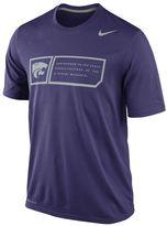 Nike Men's Kansas State Wildcats Legend Training Day Dri-FIT Performance Top