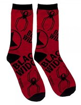 Marvel Black Widow Juniors Crew Socks