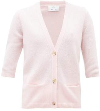 Allude Button-front Cashmere Cardigan - Womens - Pink