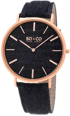 So & Co Unisex Soho Watch