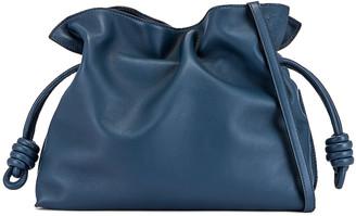 Loewe Flamenco Clutch in Varsity Blue | FWRD