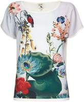 Yumi Floral Short Sleeve Top