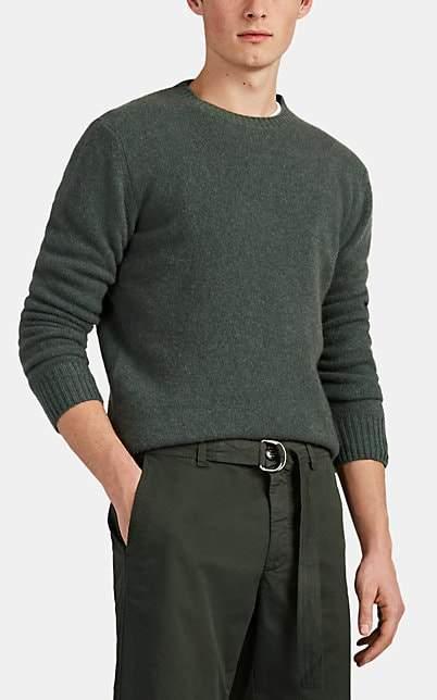 Barneys New York Men's Cashmere Crewneck Sweater - Green