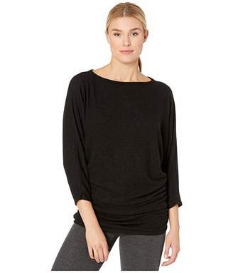 Nally & Millie Dolman Sleeve Ruched Tunic