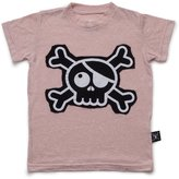 Nununu Baby Girl's Skull Patch T-Shirt