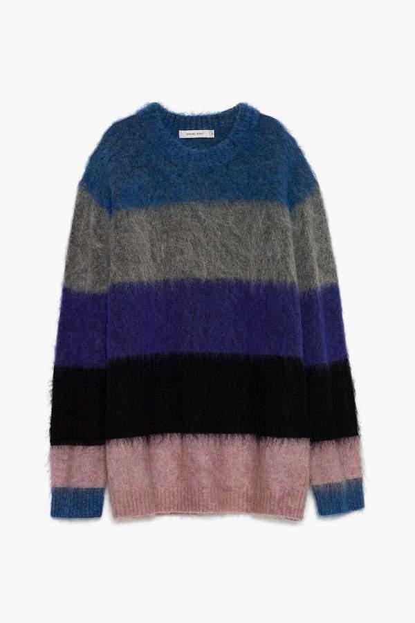 Genuine People Oversized Wool Blend Sweater