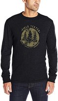 G.H. Bass Men's Long Sleeve Graphic Crew Waffle Thermal