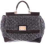 Dolce & Gabbana Woven Miss Sicily Bag