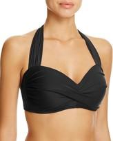Miraclesuit Solid Majority Norma Jean Halter Bikini Top