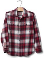 Gap GapKids + Pendleton plaid button shirt
