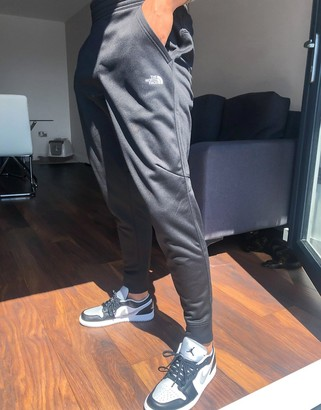 The North Face Surgent cuffed jogger in black