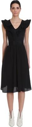 Etoile Isabel Marant Coraline Dress In Black Viscose