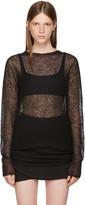 Rick Owens Black Maglia Tunic Pullover